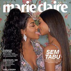 Marie Claire Brésil fait poser un couple homosexuel en Une de son numéro de février