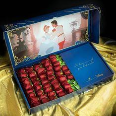Saint-Valentin : et si on s'offrait des fleurs aux couleurs des princesses Disney ?