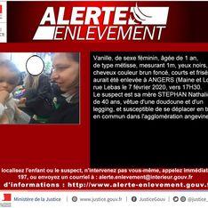 Alerte enlèvement : Vanille, 1 an, a été retrouvée morte