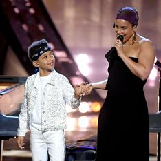 Alicia Keys : elle a appris à ses fils à lire sur les lèvres