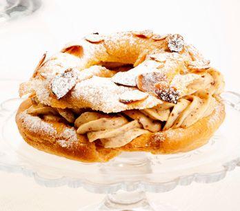 Réussir la crème mousseline au praliné du Paris-Brest