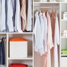 10 ideas para organizar armarios vistas en Pinterest y 10 accesorios para conseguirlo