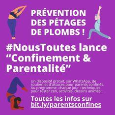 Confinement et parentalité : la solidarité s'organise sur les réseaux sociaux