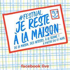 #JeResteALaMaison, le festival de musique à regarder de son canapé