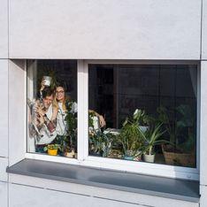 Un photographe capte ses voisins en quarantaine et c'est hilarant