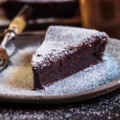 3 gâteaux au chocolat sans farine et très faciles