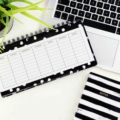 Gelassen & produktiv: So hilft ein Wochenplan im Alltag