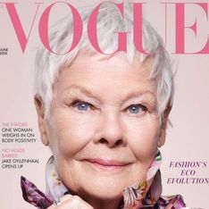 Judi Dench, 85 ans, fait la couverture de Vogue. Vive la diversité