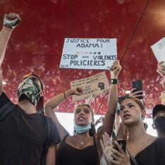 20 000 personnes anti-violences policières se sont rassemblées hier à Paris