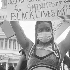 La pancarte de cette femme enceinte lors d'une manifestation devient virale