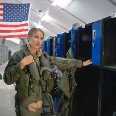 Emily Thompson devient la première femme à piloter l'avion de chasse F-35A au combat