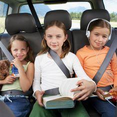 11 jeux en voiture pour occuper vos enfants sur la route des vacances !