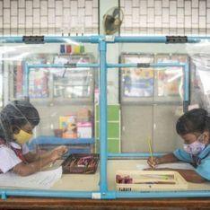 Coronavirus : les enfants enfermés dans des boxes en plastique dans une école thaïlandaise