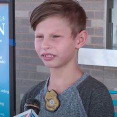 Après un discours émouvant, ce petit garçon reçoit plus de 5000 demandes d'adoption