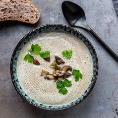Schnelle Pilzsuppe: Weltbestes Rezept mit frischen Champignons