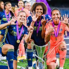 Une nouvelle victoire exceptionnelle pour l'équipe lyonnaise de football féminin