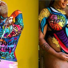 L'artiste Cierra Lynn Taylor aide les femmes à aimer leur corps grâce au body painting