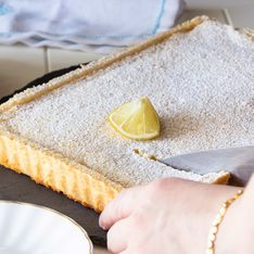 Zitronenkuchen vom Blech: Einfachstes Rezept aller Zeiten
