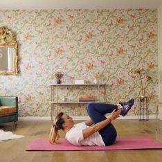 On a testé : un cours de sport à la maison avec Cindy Poumeyrol