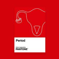 Pantone dévoile une nouvelle couleur « rouge règles »