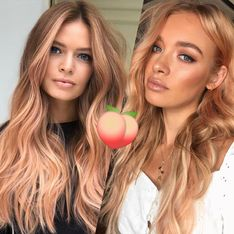Golden peach hair : la coloration tendance de l'automne