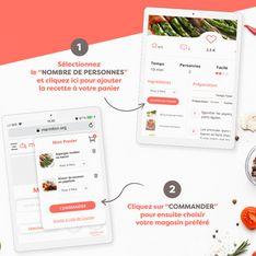 Nouveau : vous pouvez acheter directement les ingrédients des recettes !