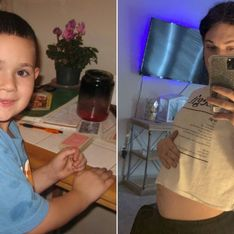 Né garçon, elle découvre à 18 ans qu'elle possède également des organes reproducteurs féminins et est aujourd'hui enceinte