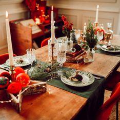 9 jolies idées pour décorer sa table de Noël sans rien dépenser