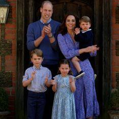 George, Charlotte et Louis de sortie avec leurs parents... et ils ont VRAIMENT bien grandi !