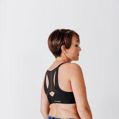 Decathlon sort sa première brassière de sport post-mastectomie
