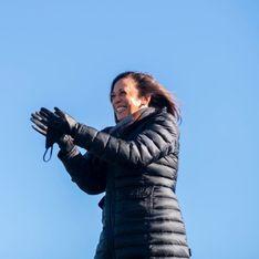Kamala Harris fait son sport sur les marches du Lincoln Memorial, la vidéo devient virale