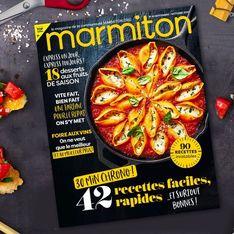 5 raisons de courir acheter le nouveau magazine Marmiton !