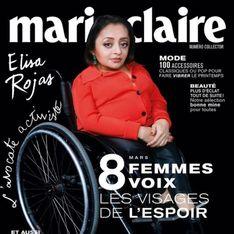 C'est historique ! Élisa Rojas, militante en fauteuil roulant, fait la Une d'un magazine féminin