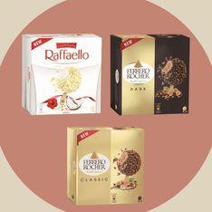 Ferrero Rocher et Raffaello existent désormais en glaces !