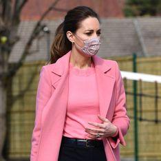 Habillée tout en rose, Kate Middleton fait sensation à Londres !