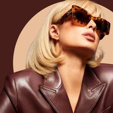Paris Hilton, méconnaissable dans la nouvelle campagne Lanvin