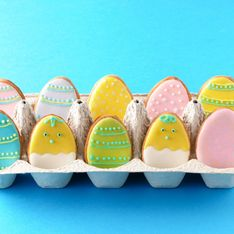 Osterplätzchen: Einfaches Rezept für süße Ostereier-Kekse