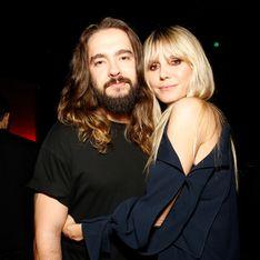 Im Spitzen-BH: Heidi Klum legt für Ehemann Tom selbst Hand an
