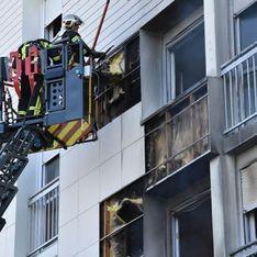 Un bébé de 6 mois et ses parents sauvés d'un immeuble en flammes grâce aux jeunes du quartier (vidéo)