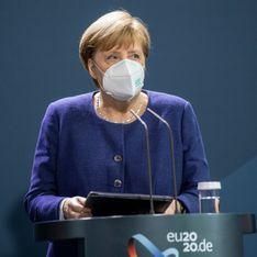 Corona-Impfung: Kanzlerin Angela Merkel mit AstraZeneca geimpft