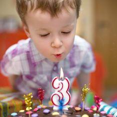 Mon enfant fête ses 3 ans : nos idées pour que la fête soit un succès