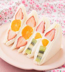 Fruit sando : le sandwich aux fruits japonais que vous allez adorer !
