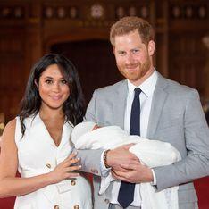 Meghan Markle et le prince Harry dévoilent un rare cliché d'Archie pour son anniversaire