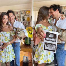 """Endométriose : à 7h13, le test est positif. Je deviendrai enfin mère."""" Gabrielle Caunesil annonce une heureuse nouvelle"""