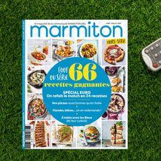 Marmiton sort son magazine Hors-Série pour vous faire dévorer l'Euro 2021 !