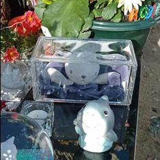 Le doudou sur la tombe de son fils disparaît...puis réapparaît mystérieusement