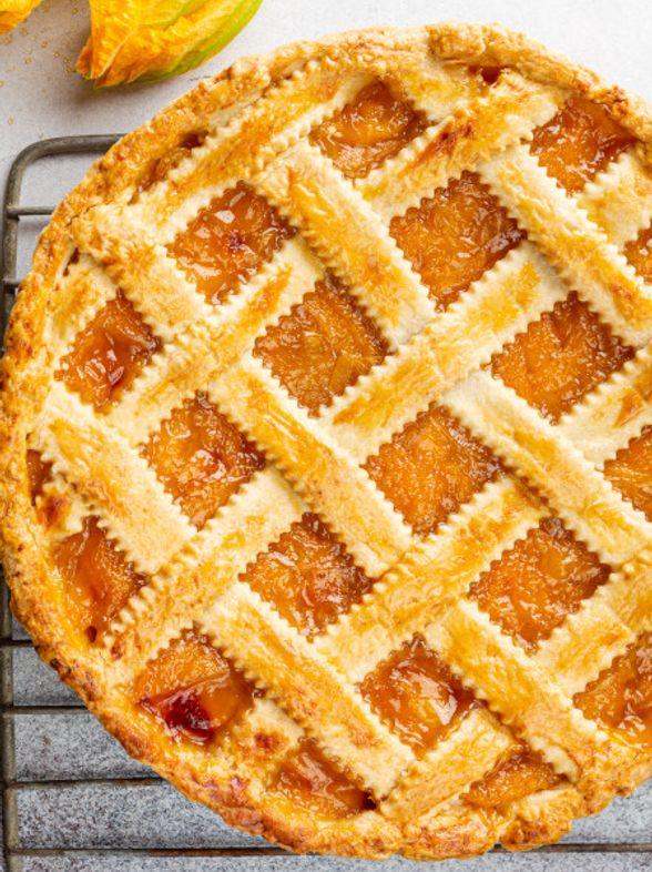 Aprikosen-Gittertorte: Unser schnelles Angeber-Rezept