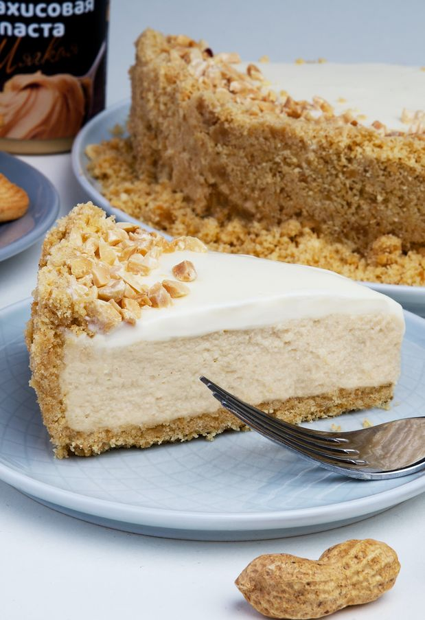 Erdnussbutter-Käsekuchen: Sündhaft leckeres Rezept