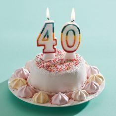 Frasi compleanno 40 anni: gli auguri più innovativi da dedicare