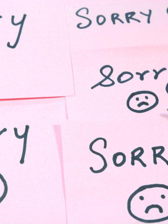 3 conseils pour cesser de s'excuser au travail